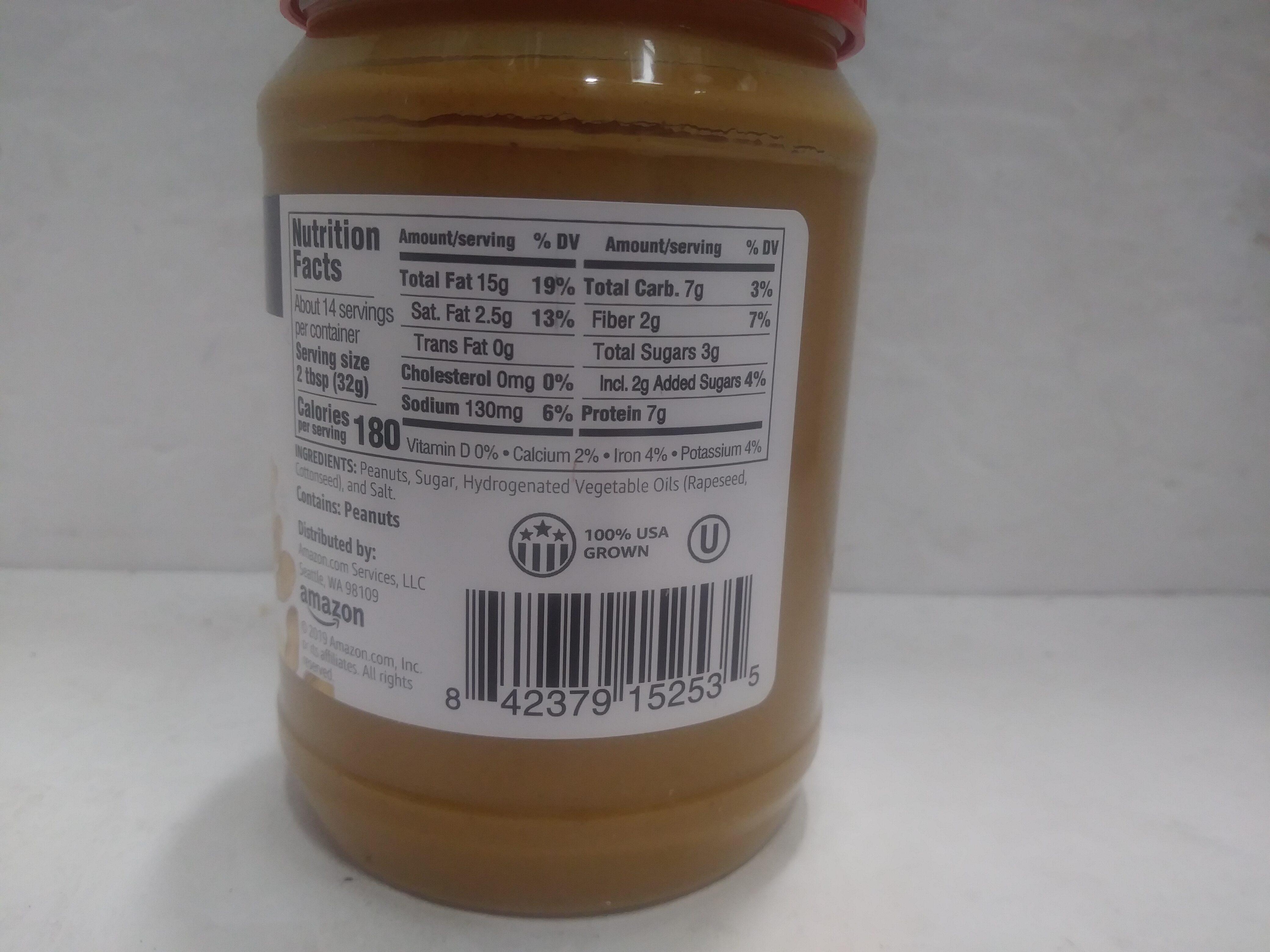 Creamy Peanut Butter - Ingredienti - en