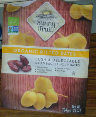 Organic pitted dates - Prodotto - fr