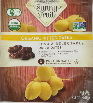 Organic Pitted Dates - Produit - fr
