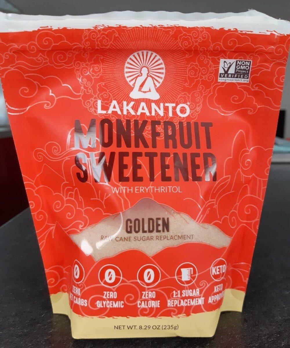 Monkfruit Sweetener (Golden) - Product - fr