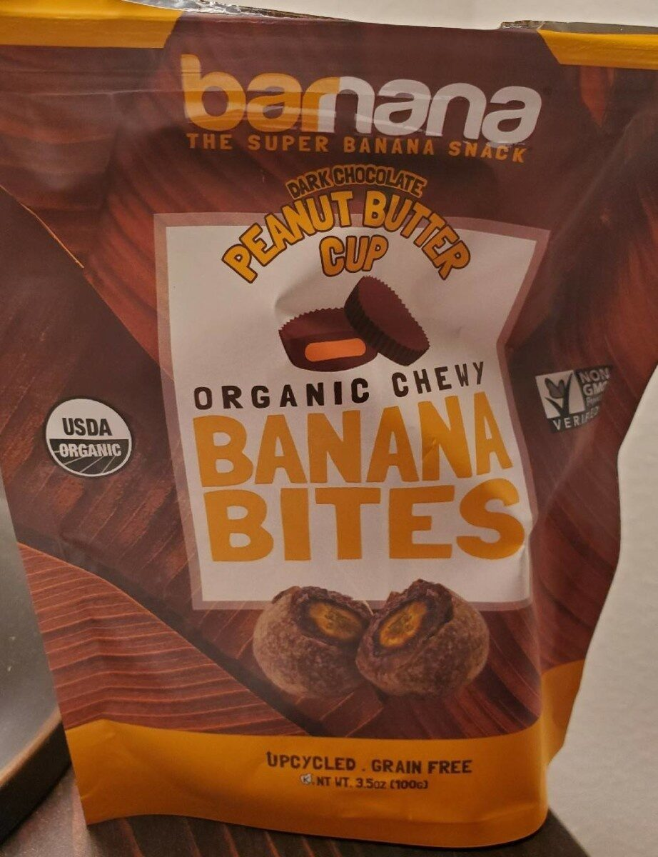Organic Chewy Banana Bites (Dark Chocolate Peanut Butter Cup) - Product - en