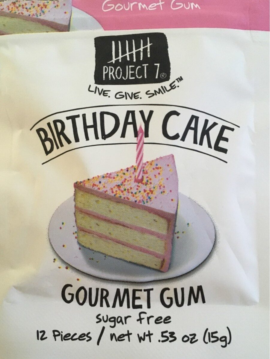 Admirable Sugar Free Birthday Cake Gourmet Gum Project 7 Funny Birthday Cards Online Elaedamsfinfo