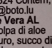 Vivaloe - Voedingswaarden - fr