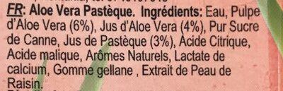 Watermelon Aloe - Ingredients