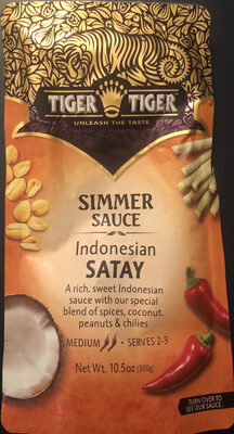 Indonesian Satay Simmer Sauce - Product - en