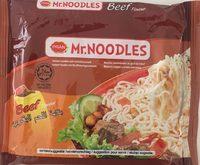 Mr.Noodles beef - Product - fr