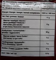 Mr.Noodles beef - Voedingswaarden - fr