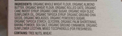 mighty nut butter bar - Ingredients