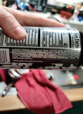 QT Energy Low Carb - Ingredients - en
