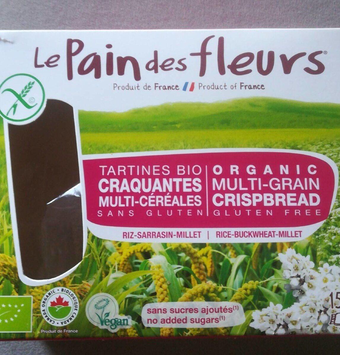 Tartines multi-cereales - Produit - fr
