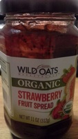 Wild oats market place, fruit spread, strawberry - Product - en