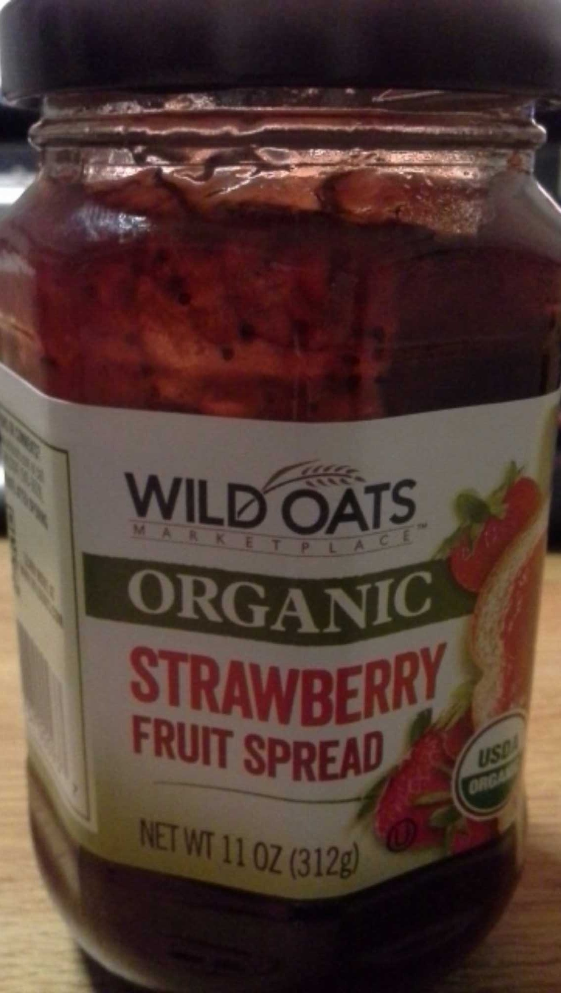 Wild Oats Organic Strawberry Fruit Spread - Product
