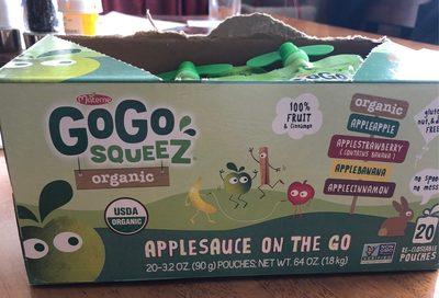 GoGo Squeez - Produit