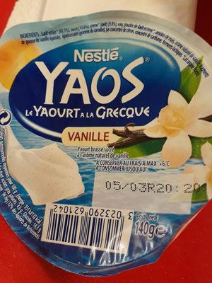 yaos yaourt à  la grecque - Product