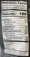 Right Rice - Nutrition facts - en