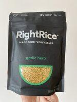 Garlic herb a blend of lentils, chickpeas, peas + rice - Product - en