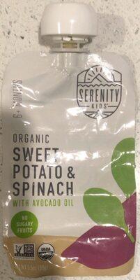 Organic sweet potatie & spinach - Product - en