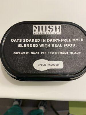 Mush overnight oats - Product - en