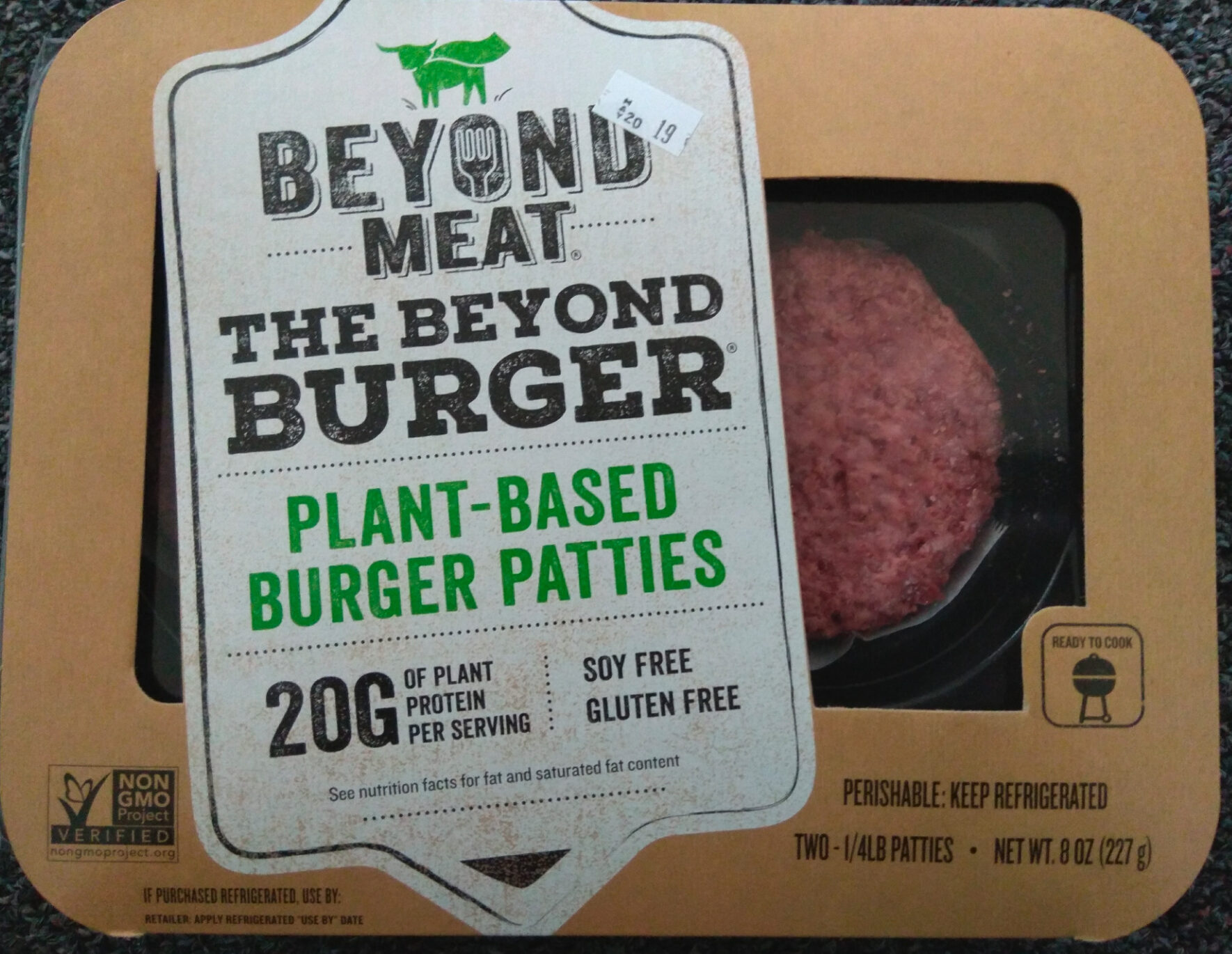 The Beyond Burger - Product - en