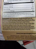 Plant based patties - Ingredients - en