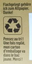Beyond Burger - Instruction de recyclage et/ou information d'emballage - de