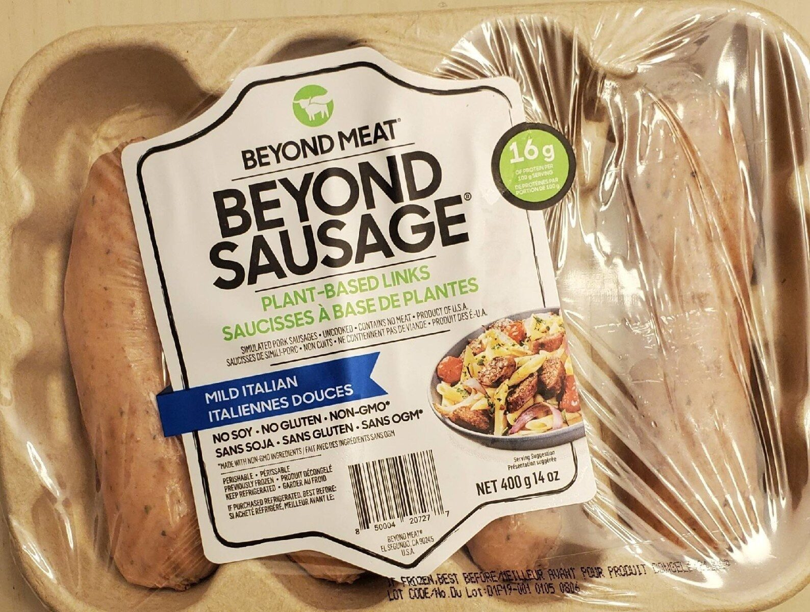 Beyond sausage - Produit - fr
