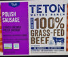 100% Grass-Fed Beef Polish Sausage - Product