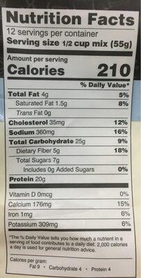 Buttermilk pancake & baking mix - Nutrition facts - en