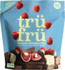 Tru fru white & milk chocolate whole raspberries - Product