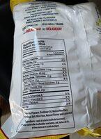 Pop corn - Nutrition facts - fr
