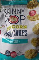Sea salt popcorn mini cakes, sea salt - Product - en