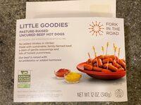 Little Goodies, Uncured Beef Hot Dogs - Produto - en