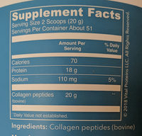 Collagen Peptides - Ingredients