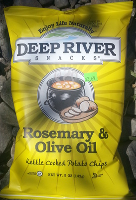 Kettle cooked potato chips - Product - en