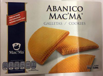 Abanico Mac'Ma - Product - es