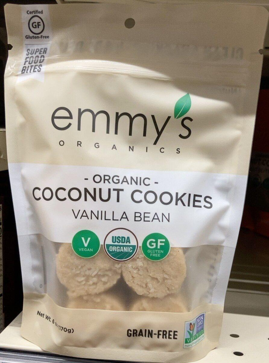 Coconut cookies vanilla - Product - en