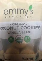 Coconut cookies vanilla - Produit - fr