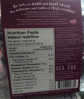 Betterave - Nutrition facts - fr