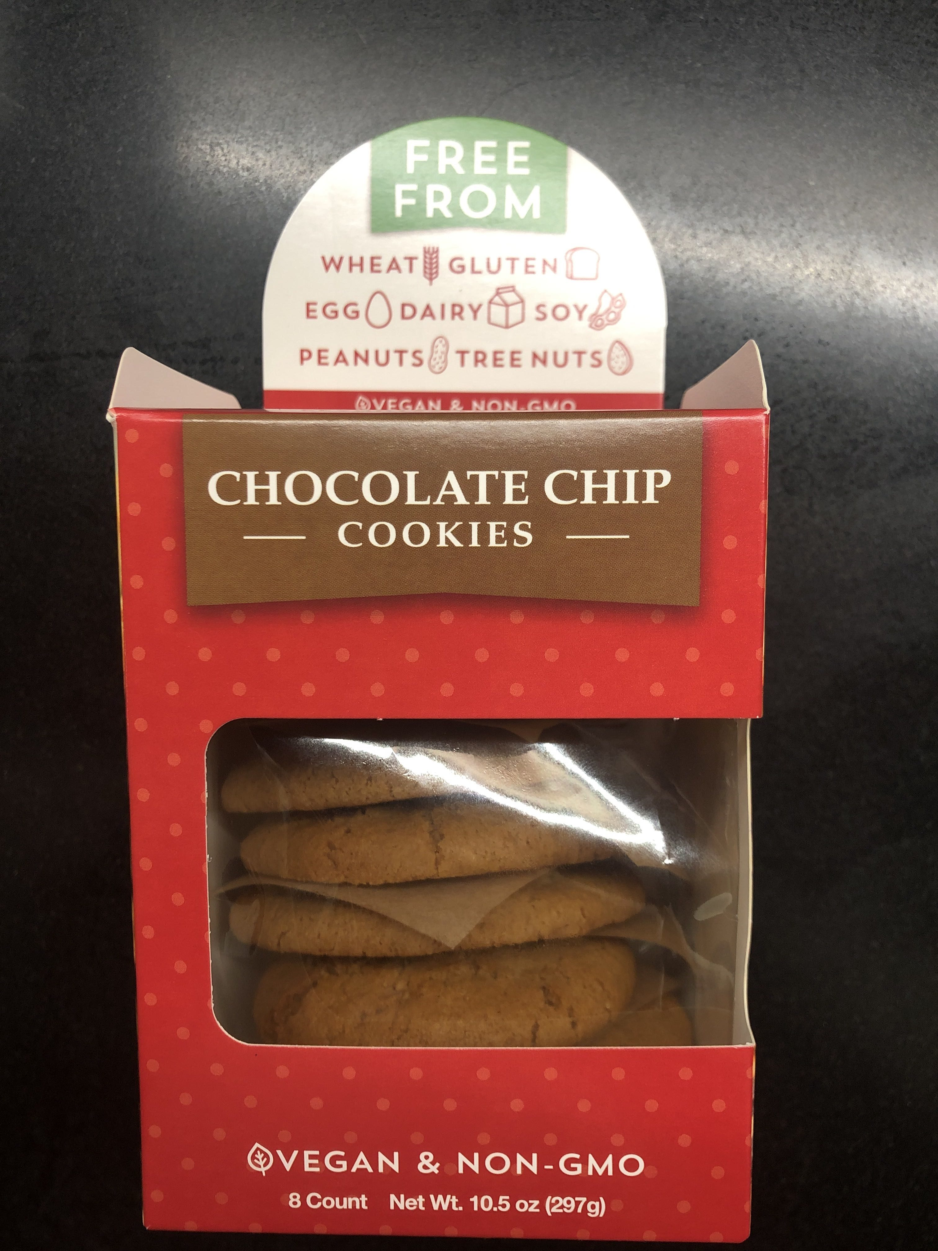 Chocolate chip cookies, chocolate chip - Product - en