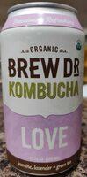 Love kombucha (Jasmine, lavender, green tea) - Product - en