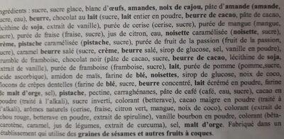 The Original French Macaron - Ingrédients - fr