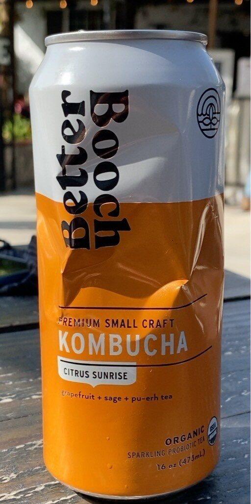 Citrus sunrise kombucha - Product - en