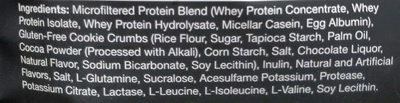 Protein powder cookies n cream - Ingredients - en