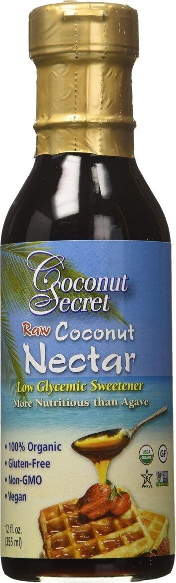 Coconut nectar natural - Product - en