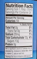 Coconut nectar natural - Nutrition facts - en