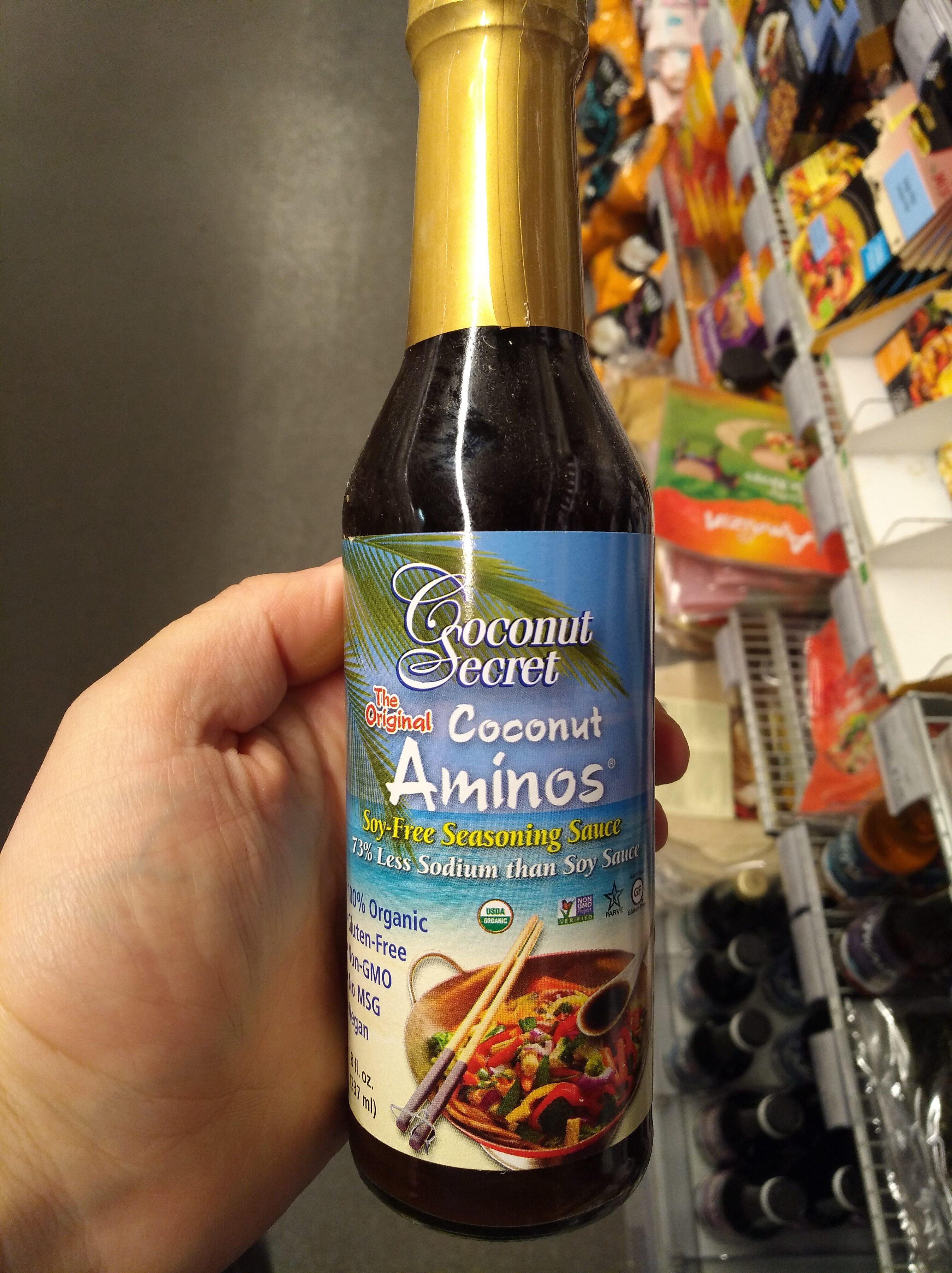Coconut aminos soy-free seasoning sauce - Product - nl