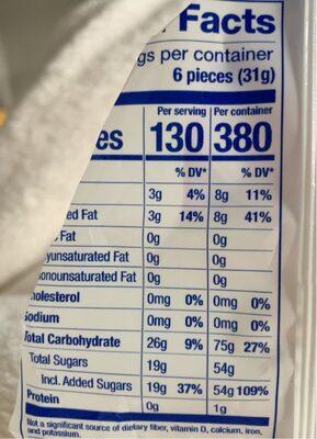 Hi chew superfruit mix flavored fruit chews - Nutrition facts - en