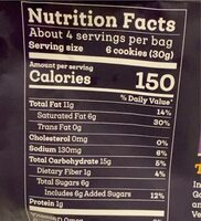 Mexican Chocolate Cookies - Nutrition facts - en