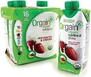 Organic nutritional shake strawberries cream - Prodotto - en