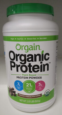 Creamy Chocolate Fudge Plant Based Protein Powder - Product